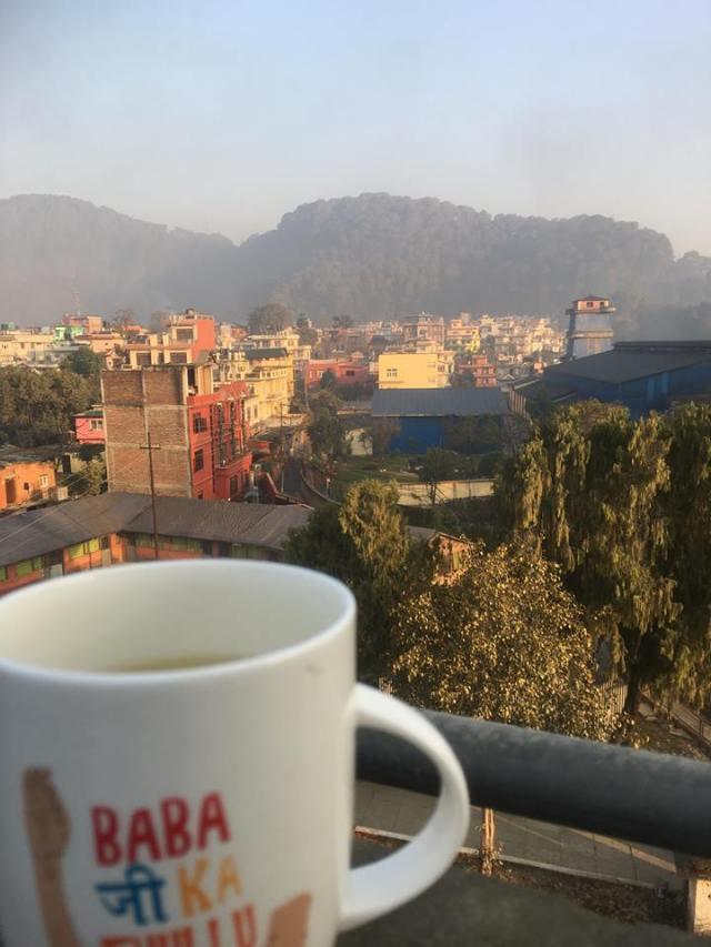 ネパールの朝