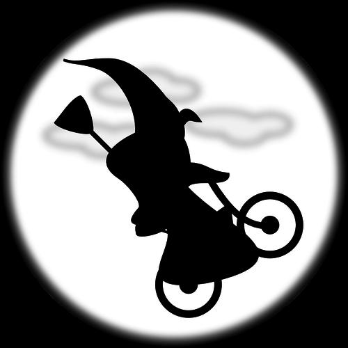 自転車魔女